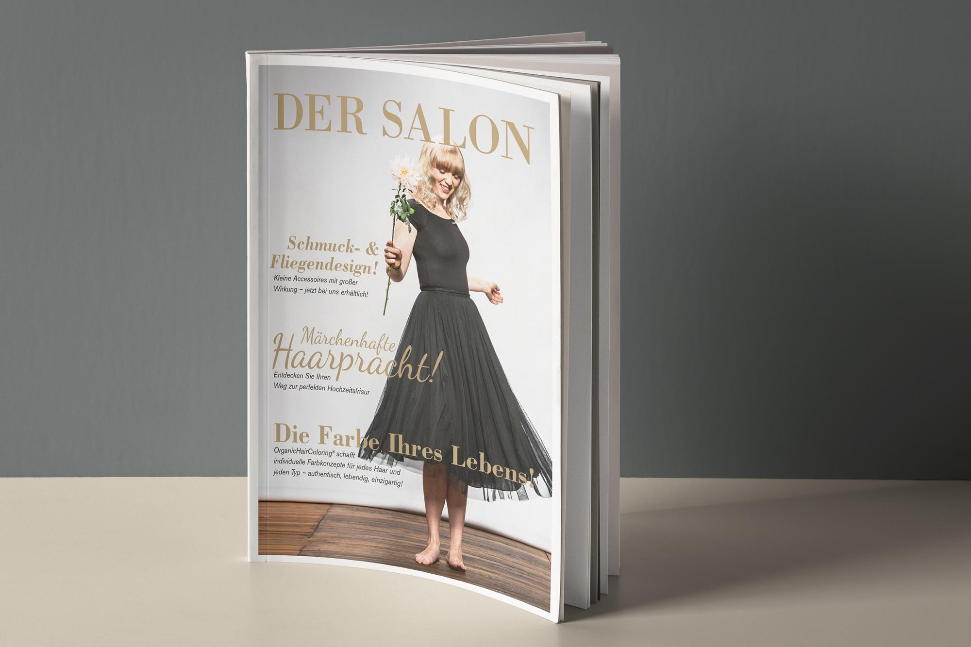 Studio dos, Grafikdesign Osnabrück, Der Salon Magazin Cover