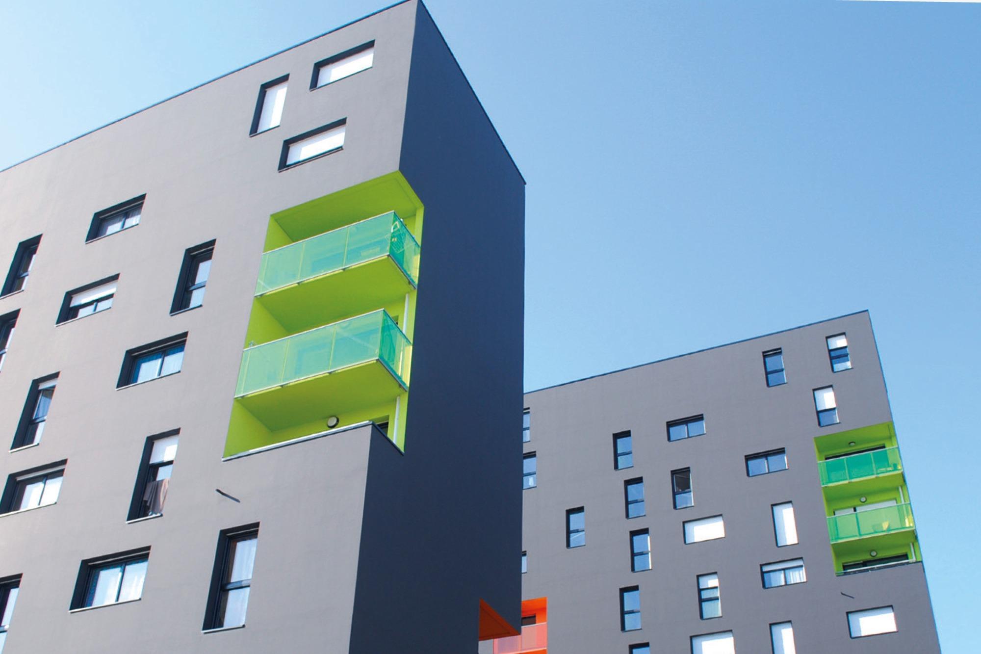 Studio dos, Grafikdesign Osnabrück, Keimfarben Farbtongarantie Fassade