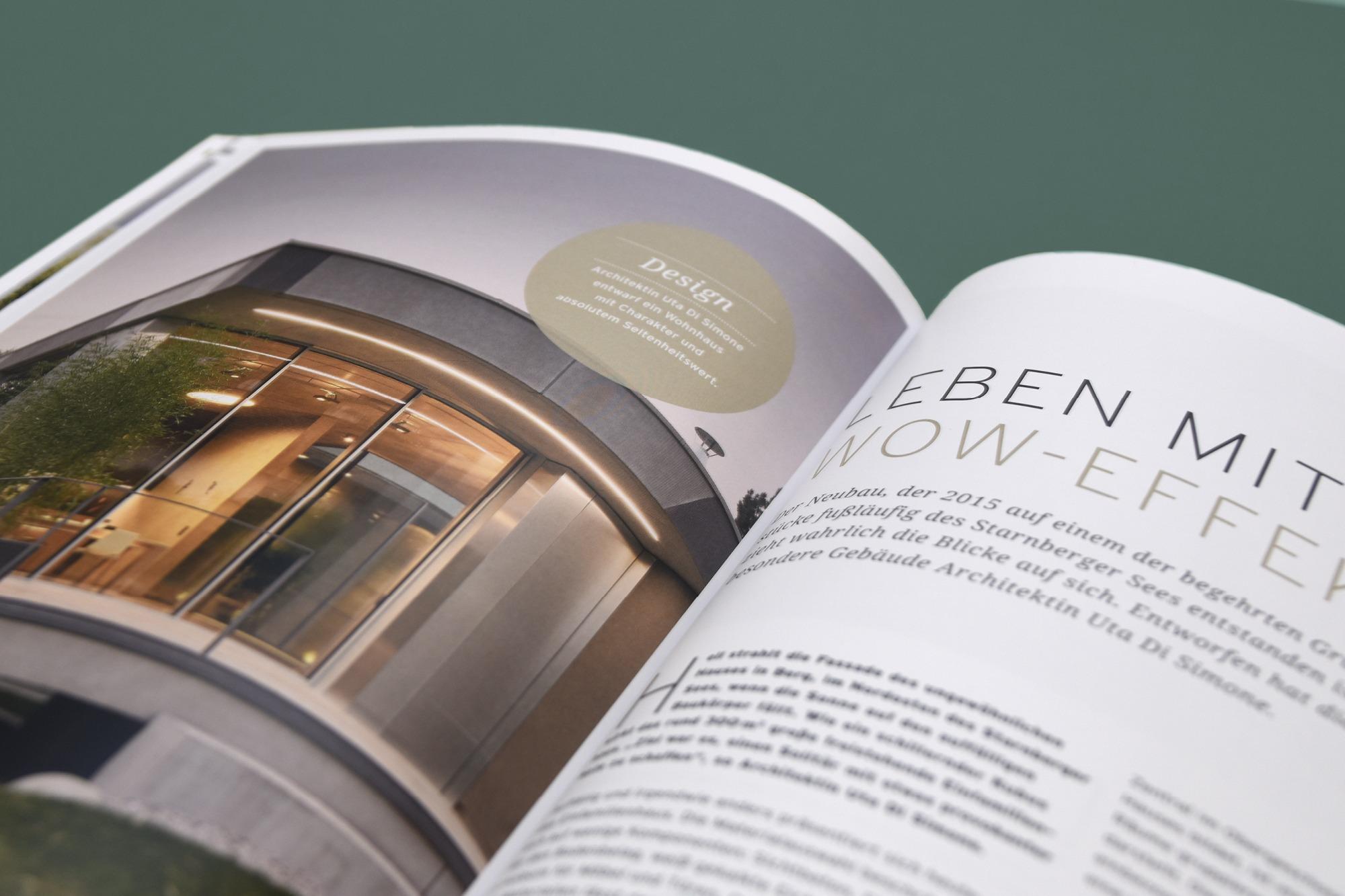 Studio dos, Grafikdesign Osnabrück, Solarlux Kundenmagazin Innenseite Detail